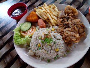 Nasi Goreng Chicken Chop